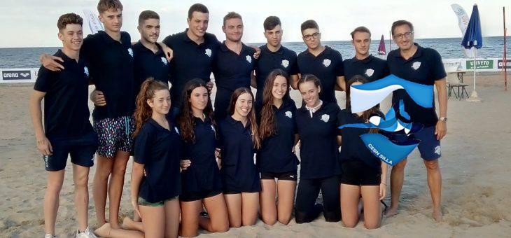 5ª JORNADA i segón día de platja en el CAMPIONAT d´EUROPA de SALVAMENT i SOCORRISME