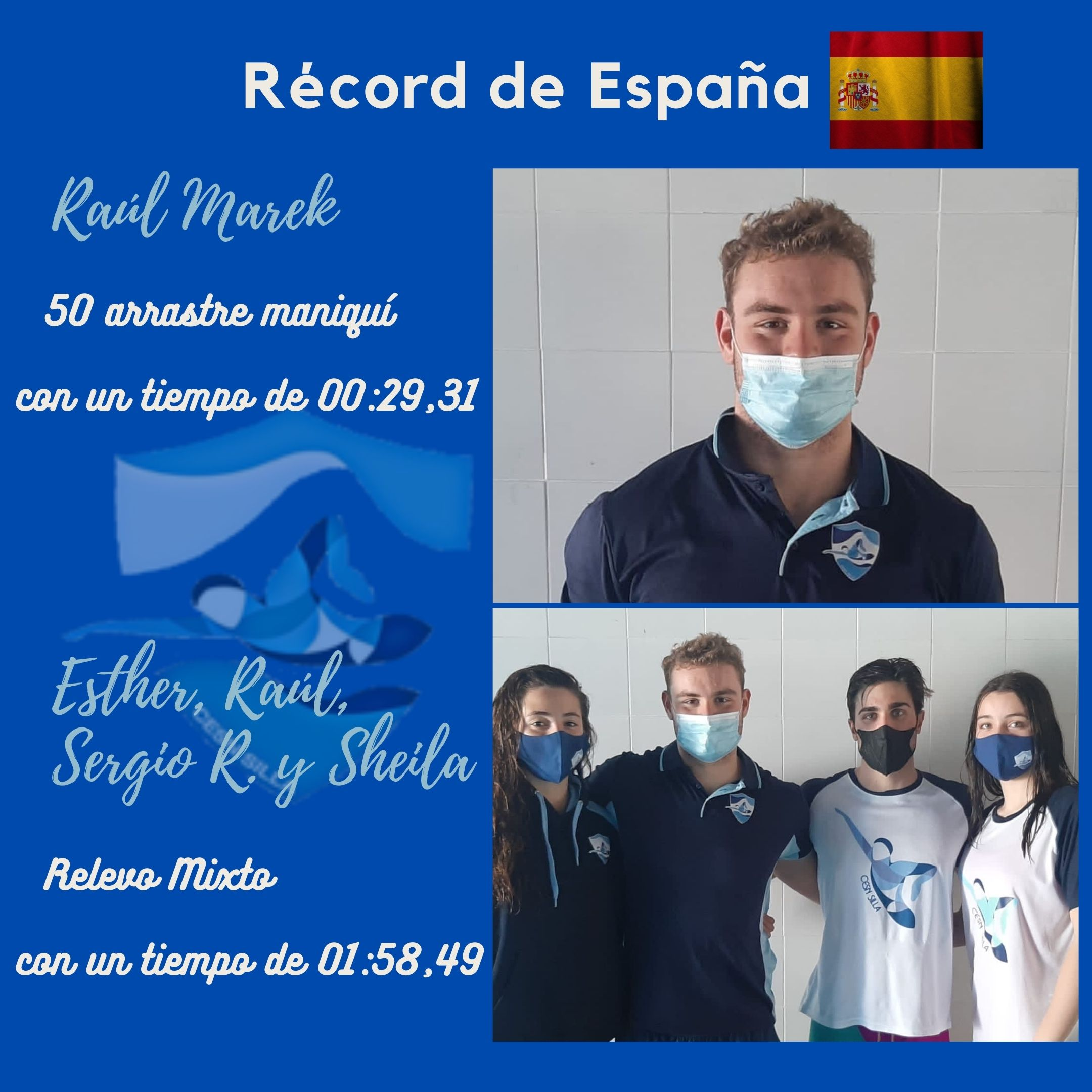 record Raúl y mixto