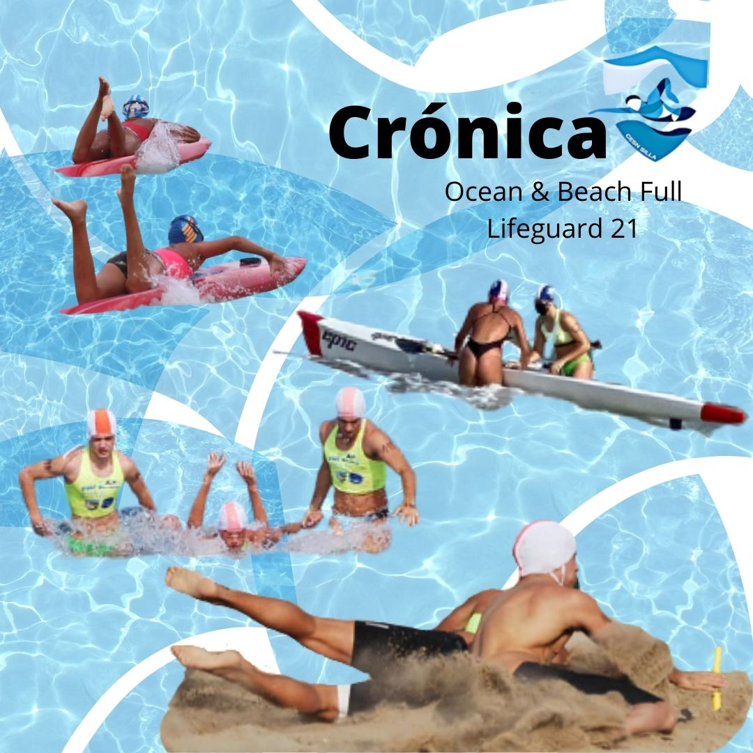 Cartel Crónica playa