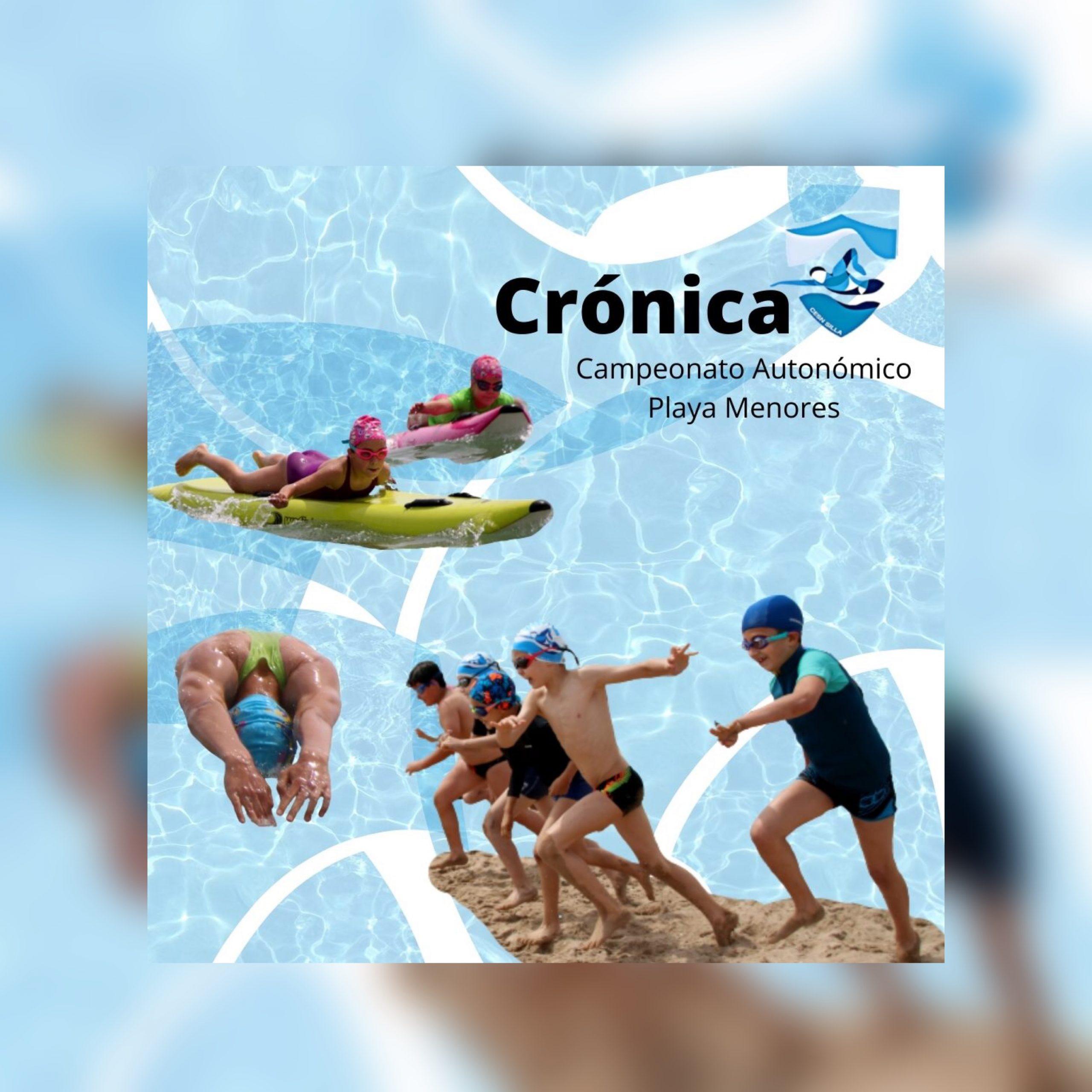 Cartel Crónica Cto Autonómico Playa