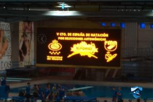 V campeonato de España por Selecciones Autonómicas natacion Cesn Silla
