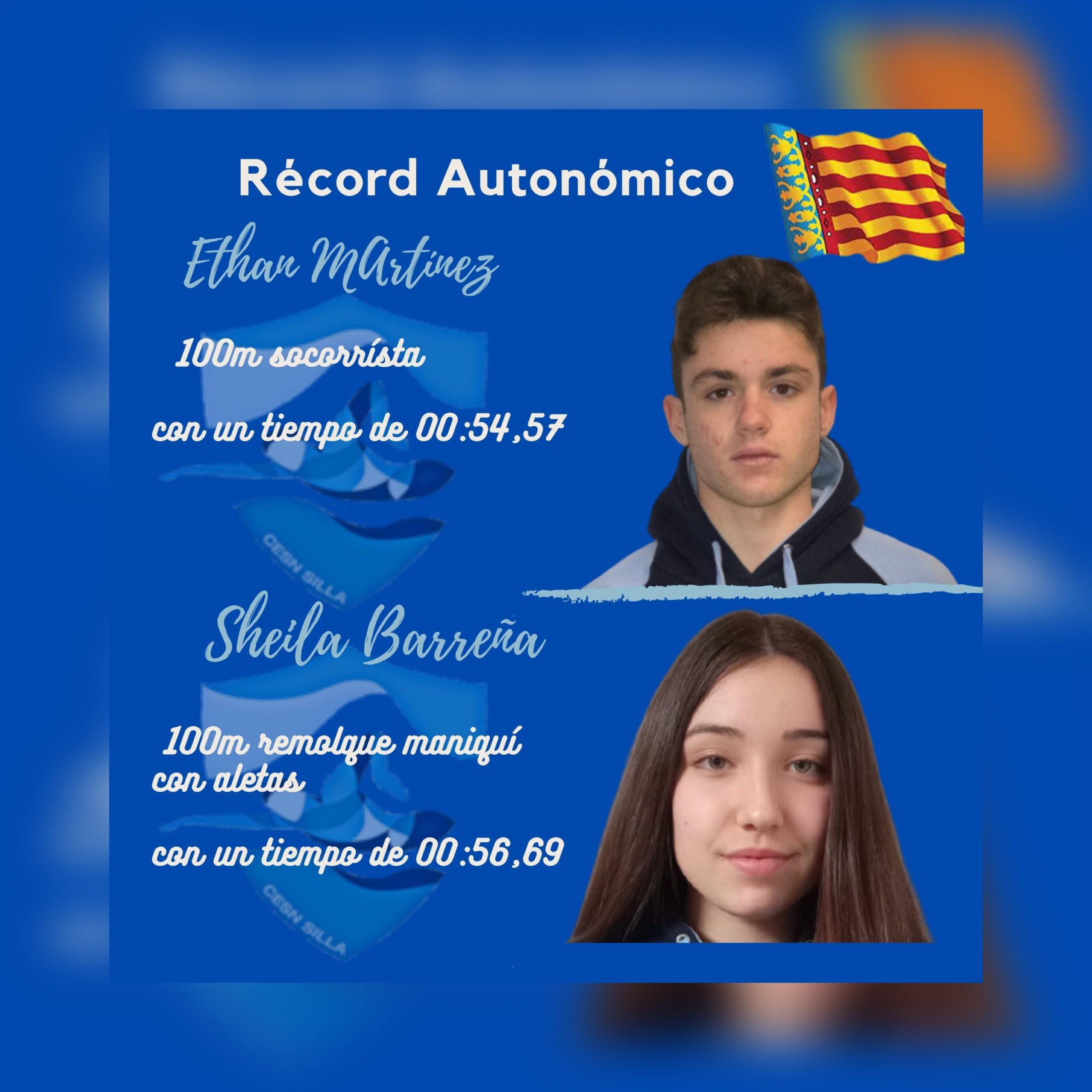 Récord Autonómico Ethan y Sheila