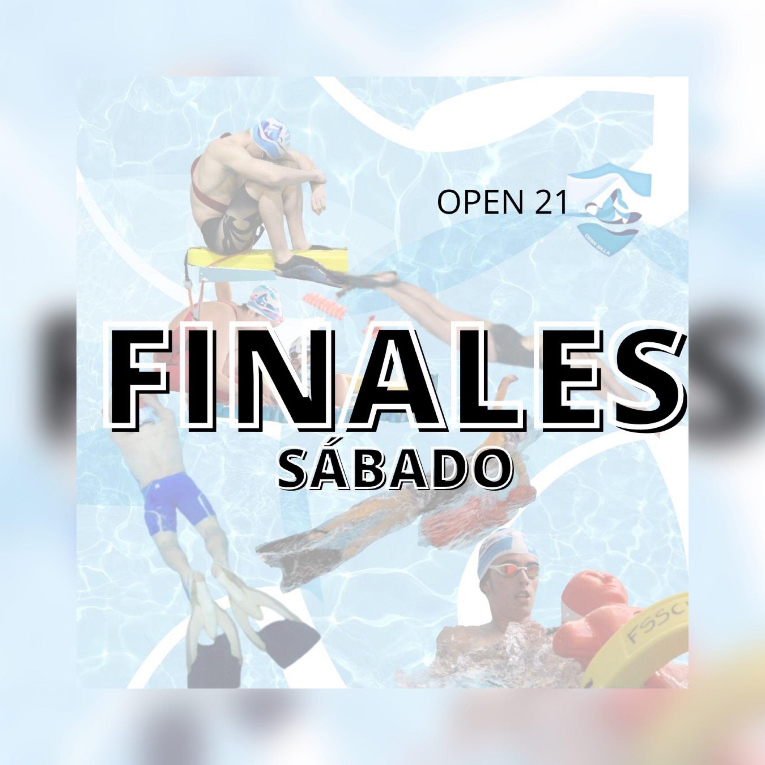 FINALES SÁBADO OPEN