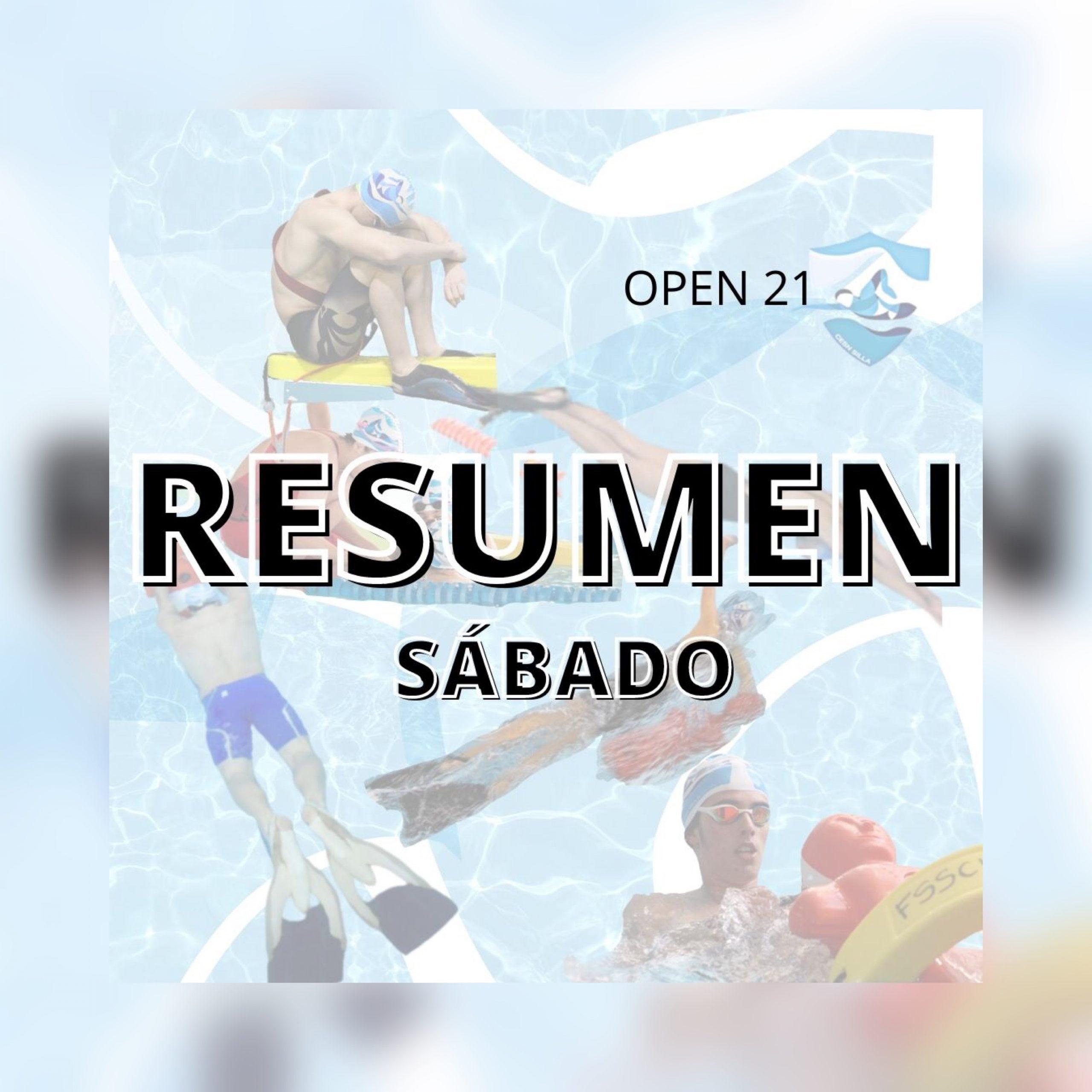 RESUMEN SÁBADO OPEN